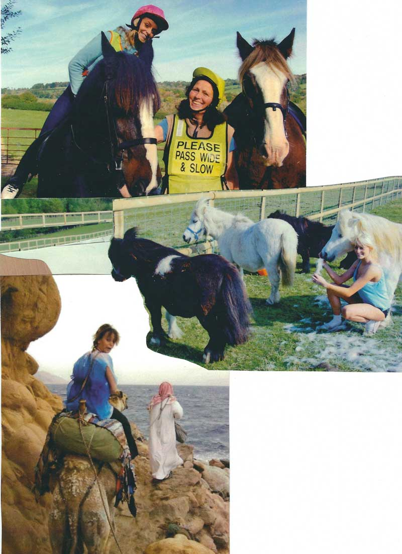 collage3 Joss growing up with animals